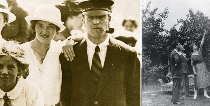 Эдит и Перси Томпсон. Фредди Байуотерс, Перси и Эдит Томпсон, 1921 год