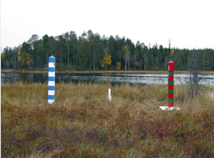 Фото №1 - Креативный мошенник за деньги провел людей через поддельную российско-финляндскую границу