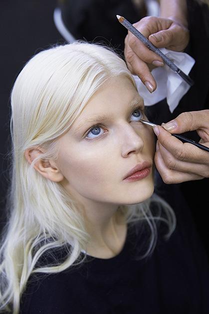 За кулисами показа Dior Haute Couture FW 2014/15.