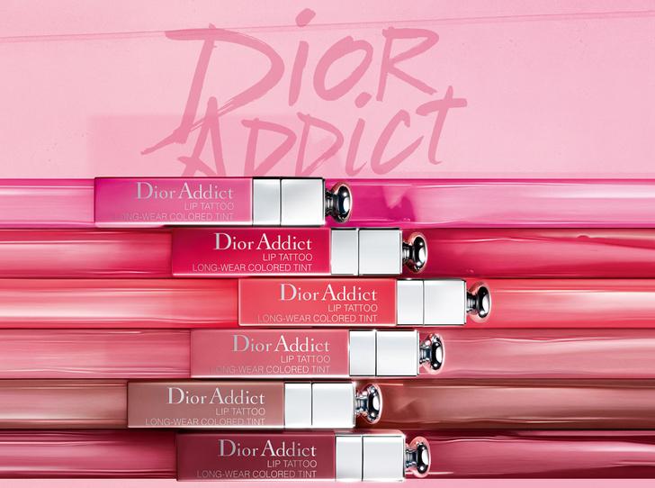 Фото №1 - Уроки татуажа, или что может новая губная помада Addict Lip Tattoo от Dior