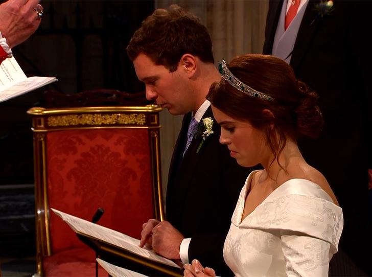 Фото №61 - Свадьба принцессы Евгении и Джека Бруксбэнка