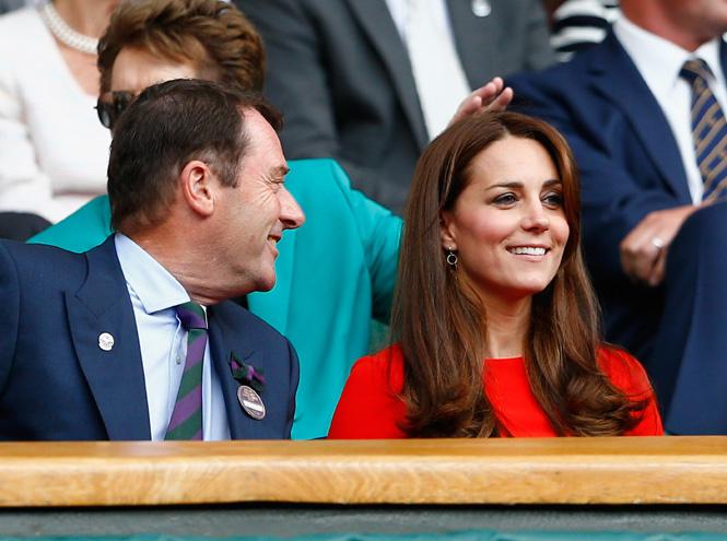 Фото №3 - Герцогиня Кэтрин и принц Уилльям на Уимблдоне