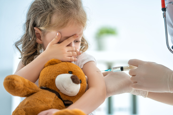 Плановая иммунизация детей