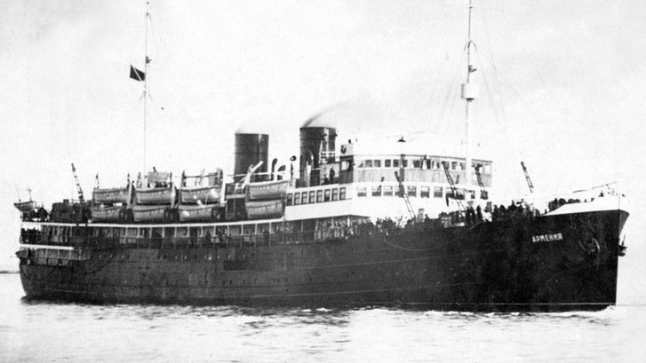 Фото №2 - Центр подводных исследований РГО идентифицировал судно, на котором погибли тысячи людей