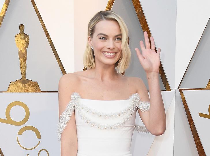 Фото №1 - «Оскар-2018»: Марго Робби в платье Chanel Couture
