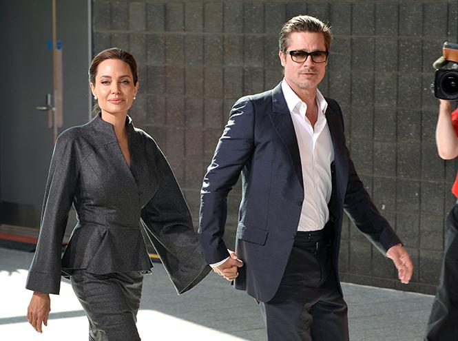 Фото №4 - Стратегия развода Бранджелины: 2:0 в пользу Джоли