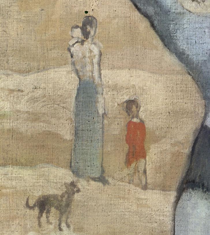 Фото №7 - А был ли мальчик: 9 любопытных фактов о картине «Девочка на шаре»