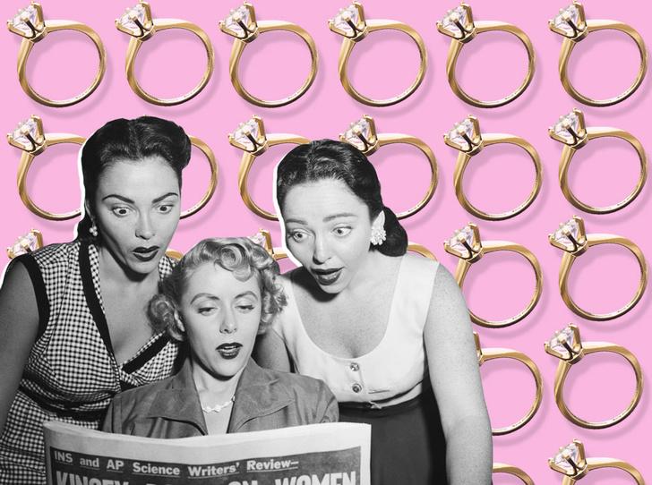 Фото №1 - Как найти мужа: самые необычные советы из женских журналов 50-х годов