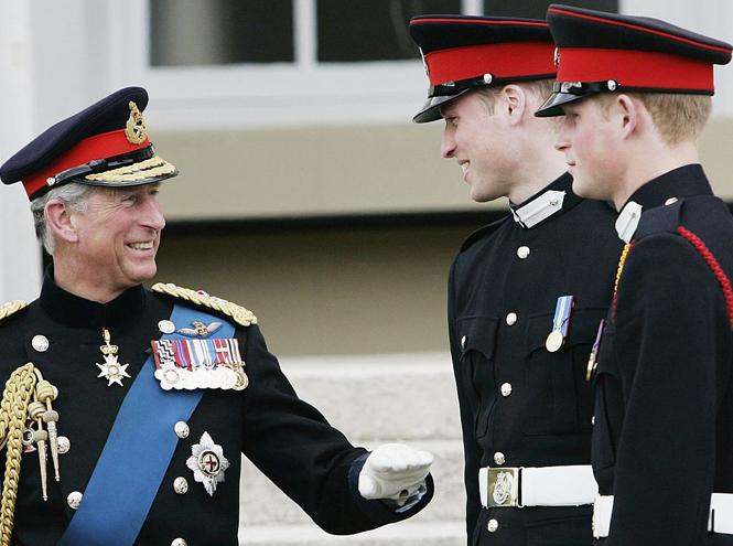 Фото №10 - Два будущих Короля: какими были отношения Чарльза и Уильяма все эти годы