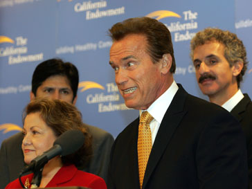 Арнольд Шварценеггер, Arnold Schwarzenegger, политика