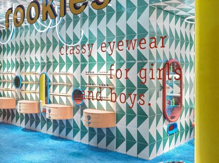 Фото №5 - Яркий магазин детской оптики Rookies в Мюнхене