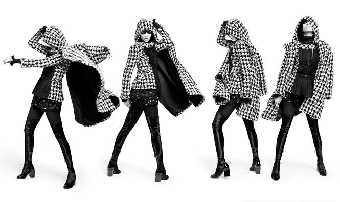Фото №1 - Новая коллекция Chanel в объективе Карла Лагерфельда