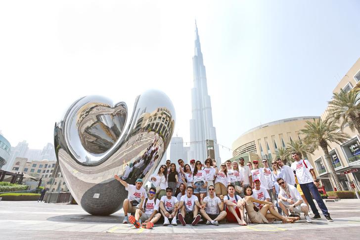 Фото №1 - «Европа Плюс» устроила сумасшедшие выходные в Дубае