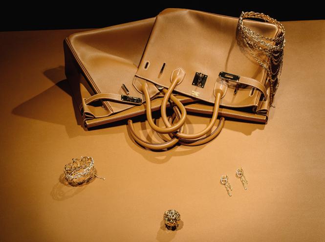 Фото №1 - Мои золотые: оригинальная ювелирная выставка Hermès