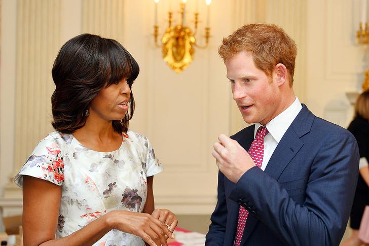Мишель Обама, принц Гарри