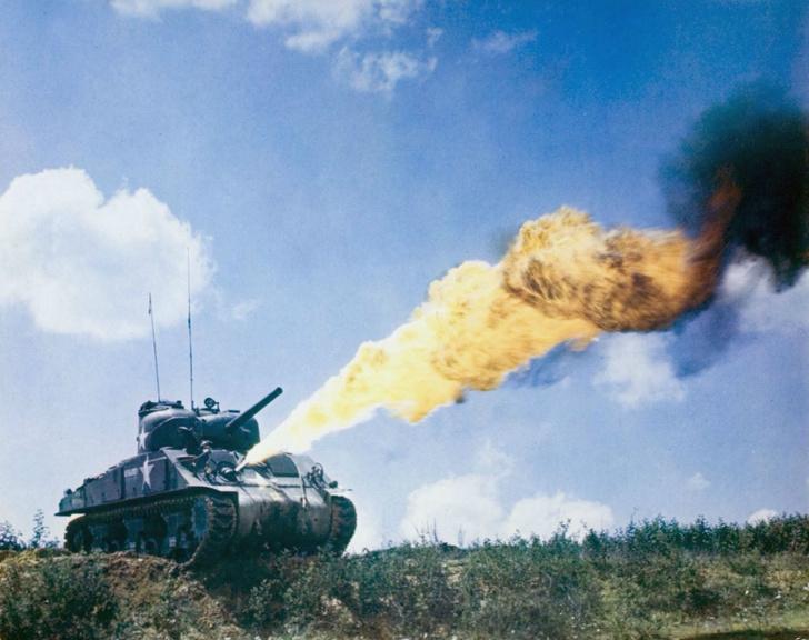 Фото №1 - «Степень поджарки— well done»: сложная судьба огнеметного танка