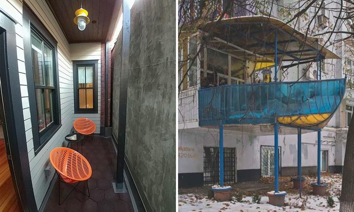 Фото №1 - Потешные и нелепые балконы со всего мира (галерея)