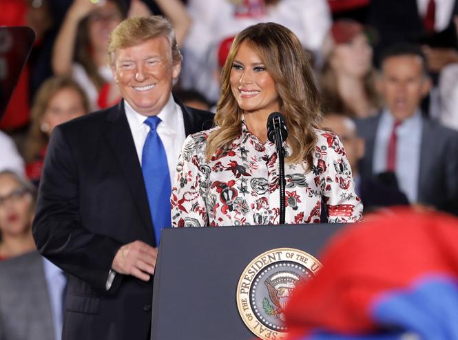 Фото №4 - Какой совет Мелании Трамп дала бывшая первая леди Барбара Буш