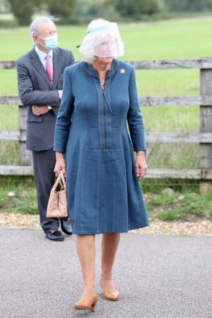 Герцогиня Камилла показала, как выглядеть стройнее на два размера