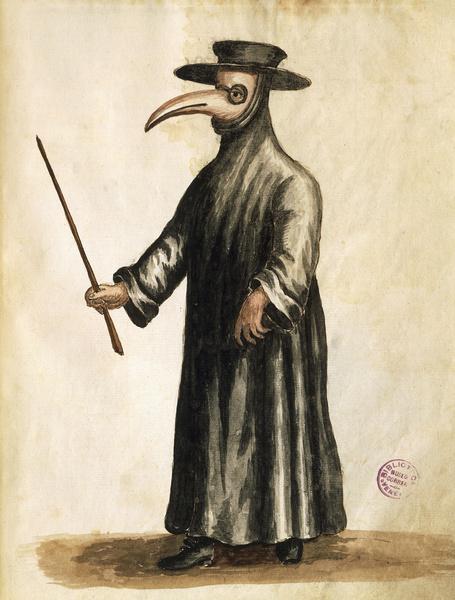 Фото №1 - Почему во время чумы носили маски с клювом