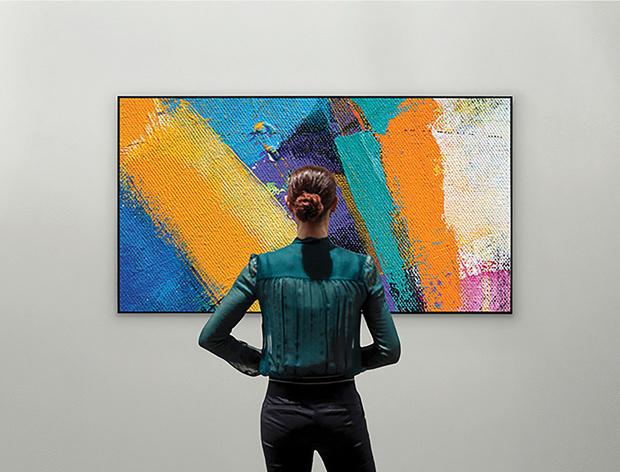 Фото №1 - Телевизор-галерея: новый взгляд на технологии в интерьере