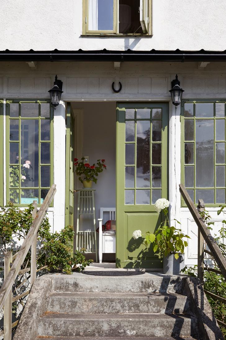 Фото №1 - Летний дом с верандой в Готланде