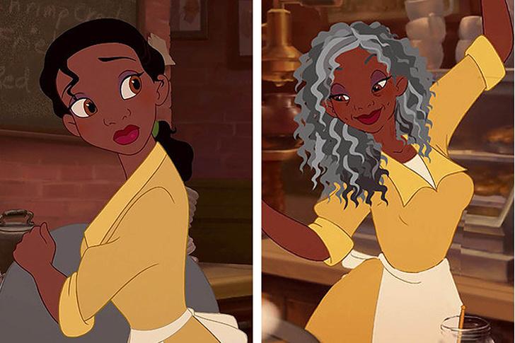 Фото №7 - Как принцессы Disney выглядели бы в старости?