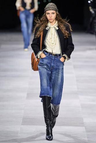 Фото №9 - Скинни, клеш и рваные: самые модные джинсы весны 2020
