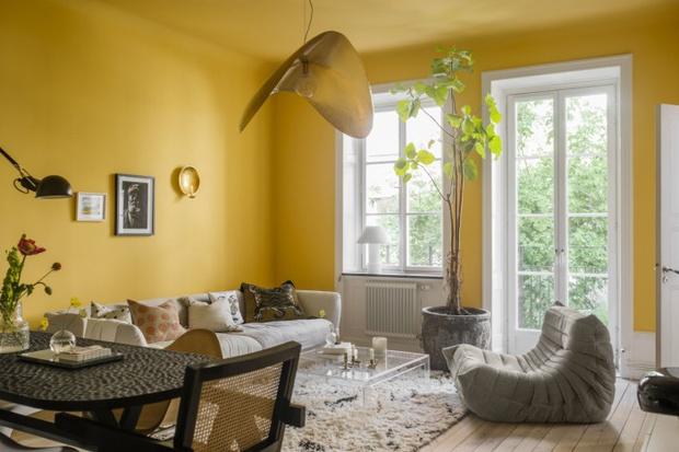 Фото №1 - Квартира в фермерском доме в Стокгольме