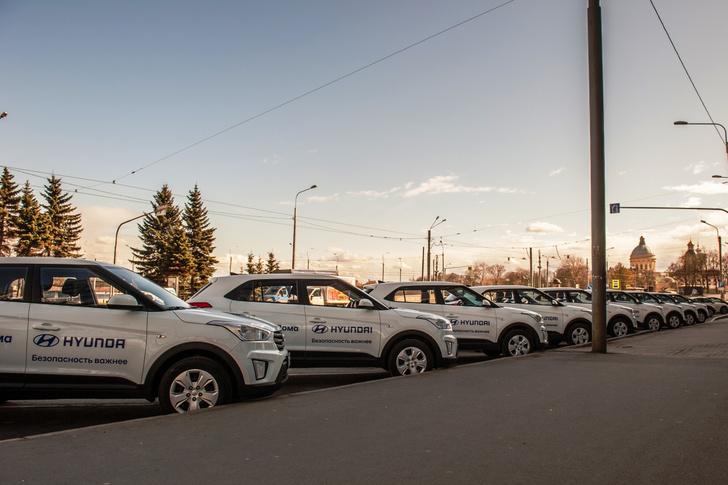 Фото №4 - Hyundai обеспечит транспорт для российских врачей и волонтеров