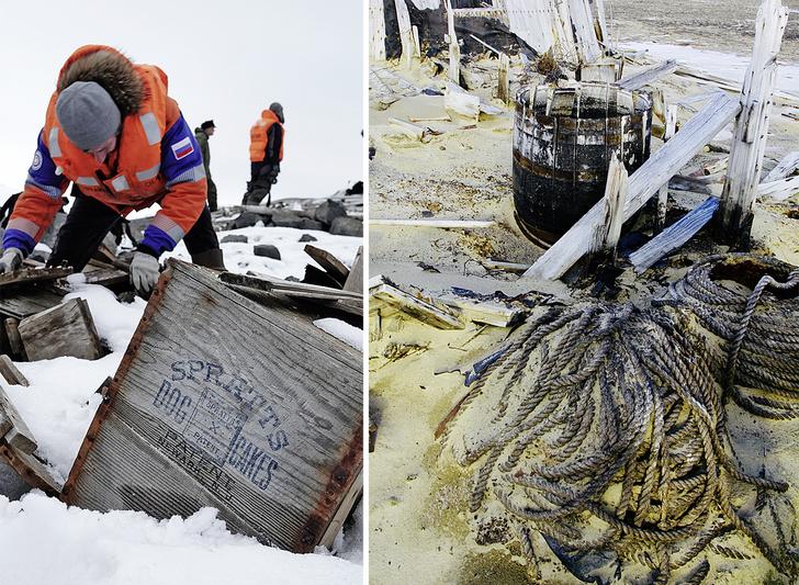 Фото №5 - Замороженное время: путешественник Леонид Круглов среди вечных льдов