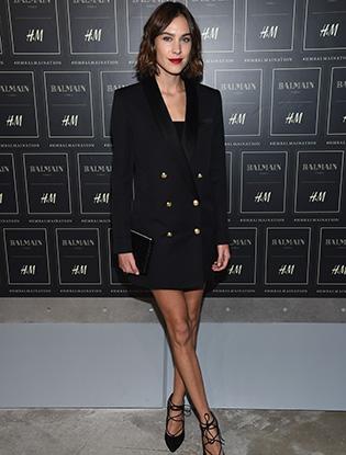 Фото №8 - В Нью-Йорке показали коллекцию Balmain для H&M