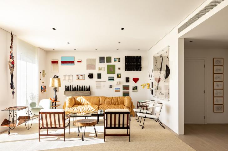 Фото №1 - Светлая квартира для коллекционера в Сан-Паулу