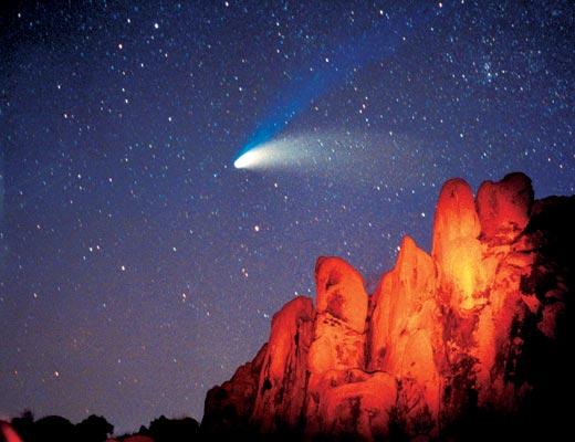 Фото №1 - Как сесть на хвост кометы?