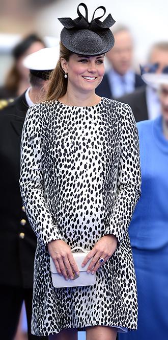 Фото №26 - В модном положении: две беременности герцогини Кембриджской (сравним?)