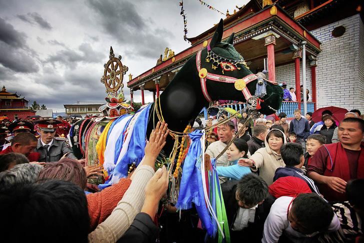 Фото №1 - Традиции: Колесо мира