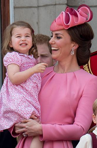 Фото №15 - Трогательные фото детей герцогини Кембриджской на празднике Trooping The Colour