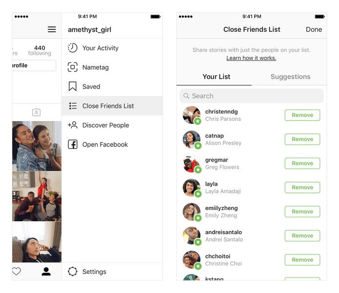 Фото №1 - Обновление в Инстаграме: Stories только для близких друзей