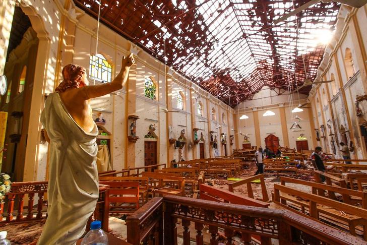 Фото №1 - «Пасхальные» теракты на Шри-Ланке