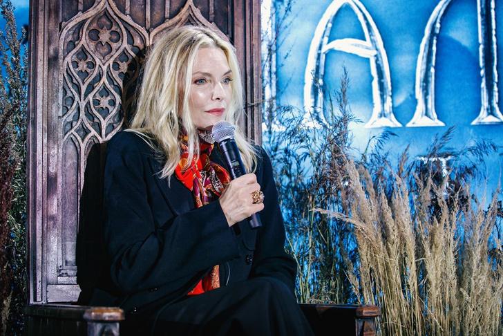 Фото №3 - В Москве состоялись пресс-конференция и фотоколл при участии Мишель Пфайффер по фильму «Малефисента: Владычица тьмы»
