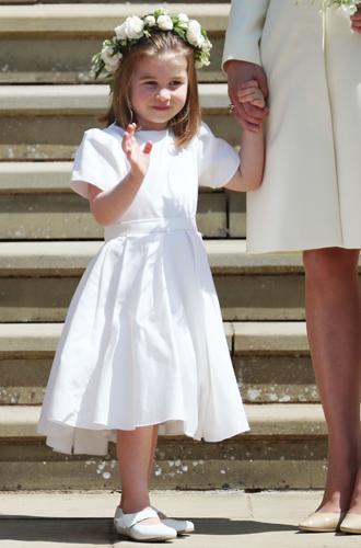 Фото №2 - Подружки и пажи королевских кровей на свадьбах: от принца Джорджа до юной Лилибет