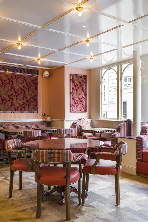 Фото №5 - Ресторан по проекту Лауры Гонсалес в Париже