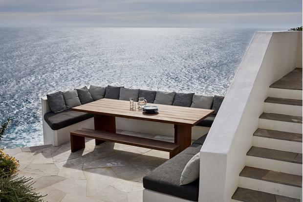 Фото №14 - Модная деталь: банкетки и скамейки в столовой