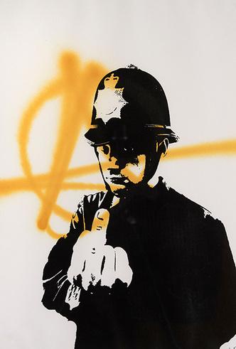 Фото №3 - Гений или вандал: выставка стрит-арт художника Бэнкси