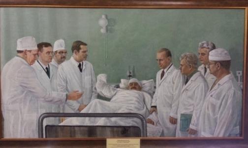 Фото №1 - Пациент сделал подарок психбольнице - нарисовал портрет Путина