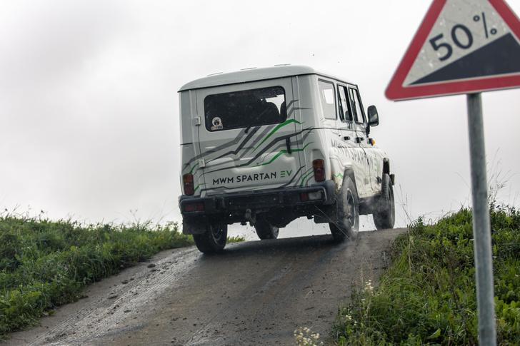 Фото №7 - 7 высоковольтных фактов об электровездеходе «УАЗ-Спартан»