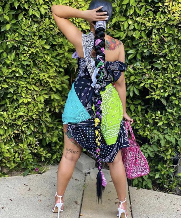 Фото №2 - Cardi B в платье-бандане одесситки Наташи Зинько