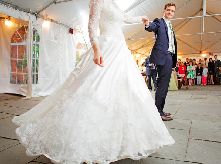 Фото №1 - Первый свадебный танец: маленькая история любви