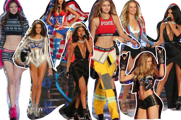 Фото №11 - Самые красивые образы с показа Victoria's Secret