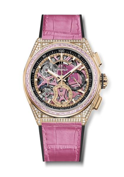Фото №2 - Розовый— цвет надежды! Zenith выпустили особенные женские часы